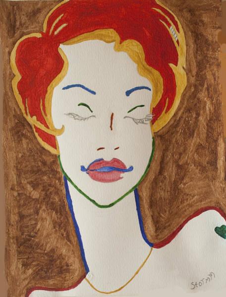 Lid Painting - Sleeping Beauty by Stormm Bradshaw