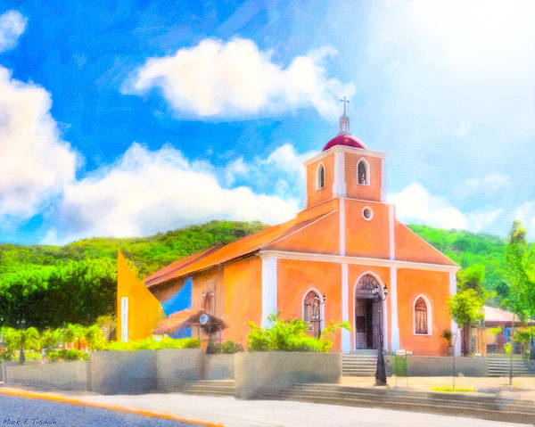 Wall Art - Photograph - Dreamy Little Church In The Tropical Sun by Mark Tisdale