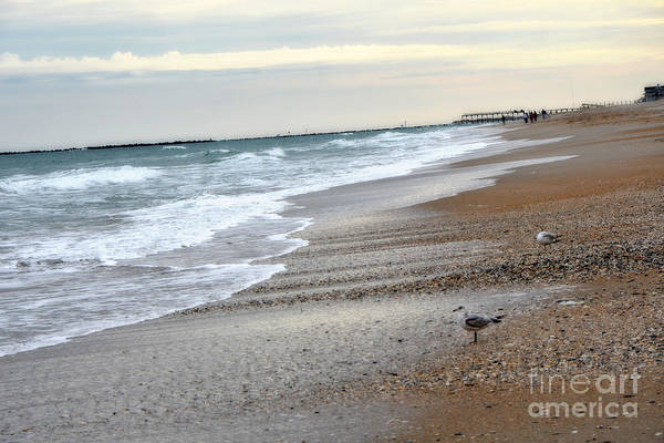 Wrightsville Beach Wall Art - Photograph - Dreamy Ocean Beach North Carolina Coastal Beach  by Kathy Fornal