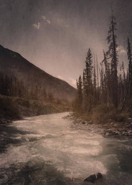 Dreamy River Art Print