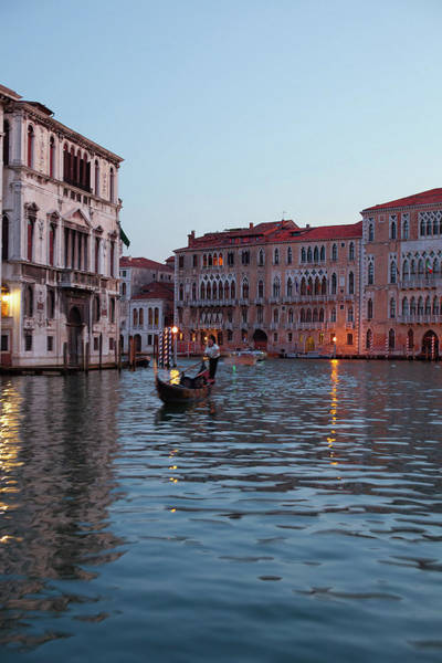 Oar Photograph - Dreamy Venice by Images By Fabio