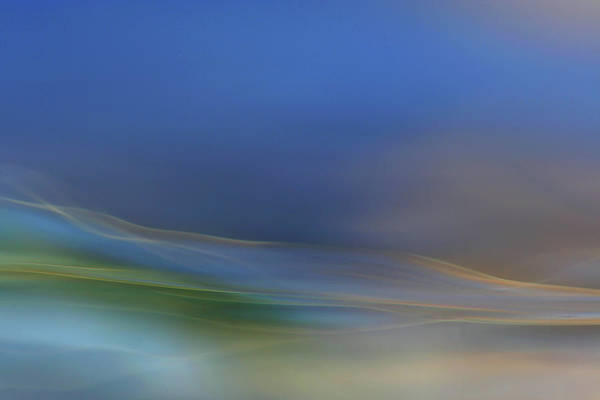 Abstract Smoke Photograph - Dreamy Waters by Willy Marthinussen