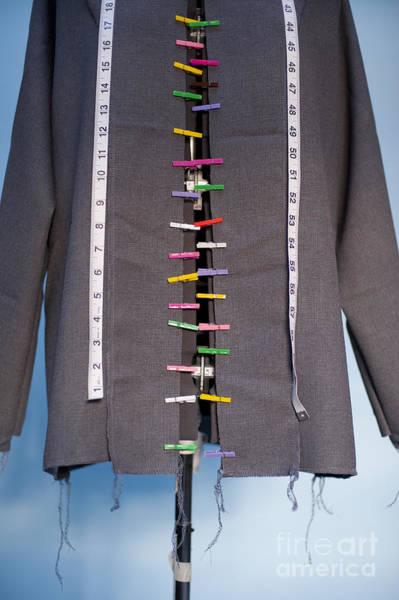 Dress Fitting Photograph - Dress Maker Form Mannequin by Jim Corwin