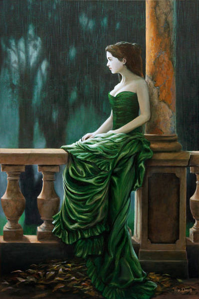Baluster Wall Art - Painting - Dressed Up For Nothing by Tim Davis