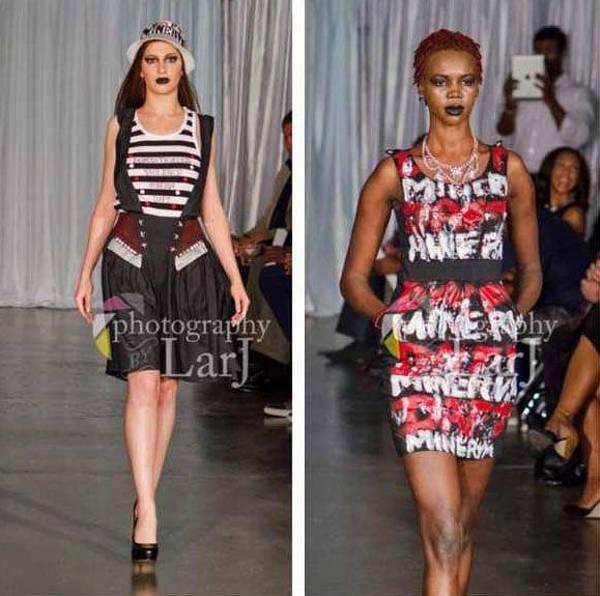 Clothing Design Mixed Media - Dresses by Daft Minerva