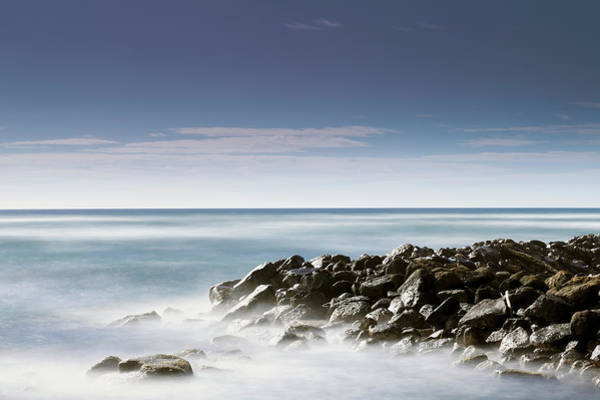 Wall Art - Photograph - Driftood And Rocks Seen by Ian Ludwig
