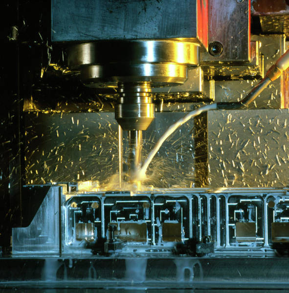 Drilling Photograph - Drilling Machine by Cc Studio/science Photo Library
