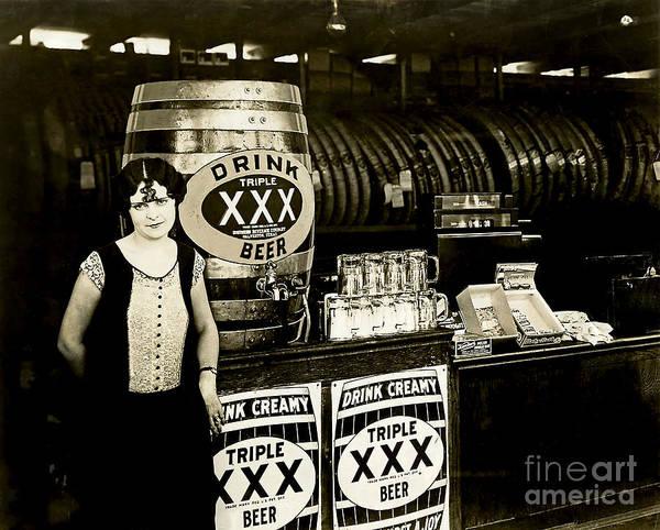 Flapper Photograph - Drink Beer by Jon Neidert