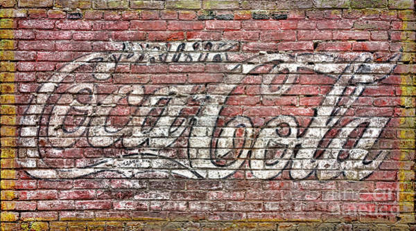 Wall Art - Photograph - Drink Coca Cola by Olivier Le Queinec