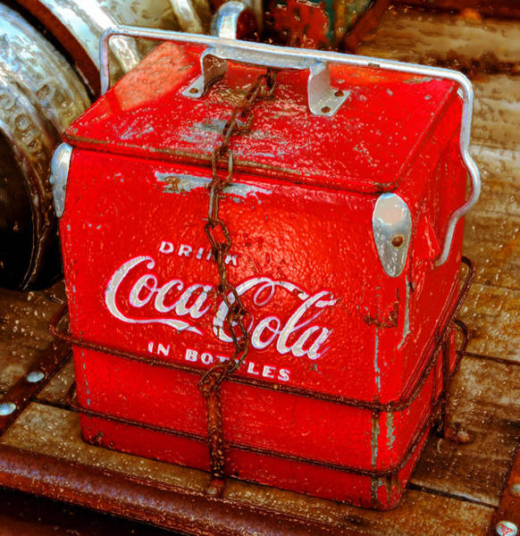 Coca Cola Painting - Drink Coke In Bottles by David Lee Thompson