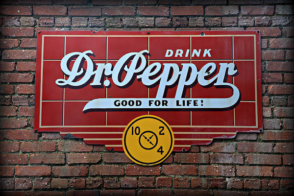 Ad Photograph - Drink Dr. Pepper - Good For Life by Stephen Stookey