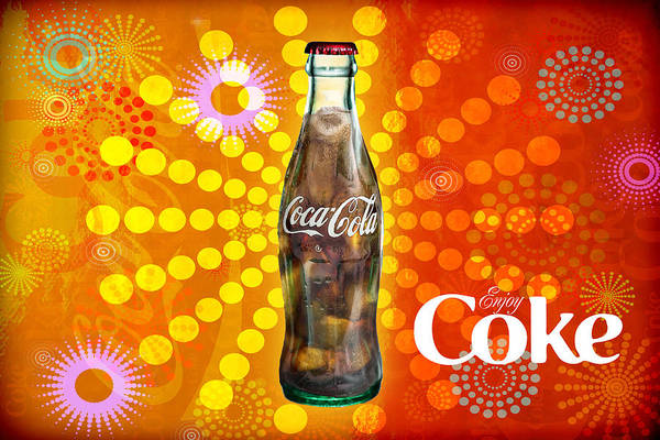 Photograph - Drink Ice Cold Coke 4 by James Sage