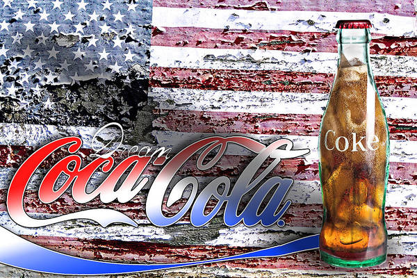 Photograph - Drink Ice Cold Coke 6 by James Sage