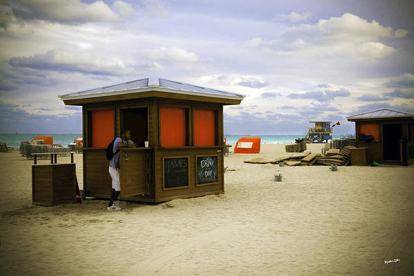 Wall Art - Photograph - Drink Of The Day - Miami Beach - Florida by Madeline Ellis