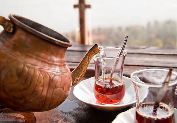 Eastern Anatolia Photograph - Drinking Turkish Tea by Leyla Ismet