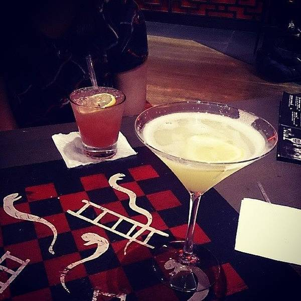 Martini Wall Art - Photograph - #drinks #cocktails With My #birthday by Chris Gallagher