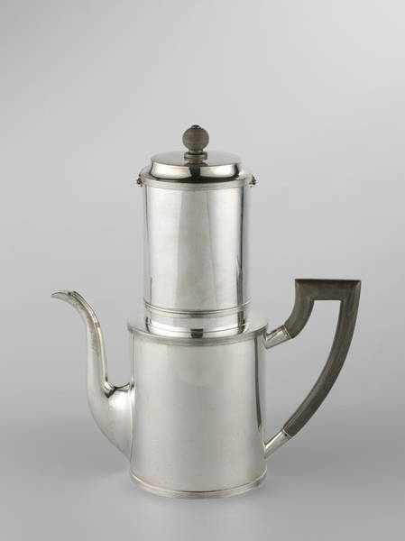 Coffee Drawing - Drip Filter Coffee Pot by Quint Lox