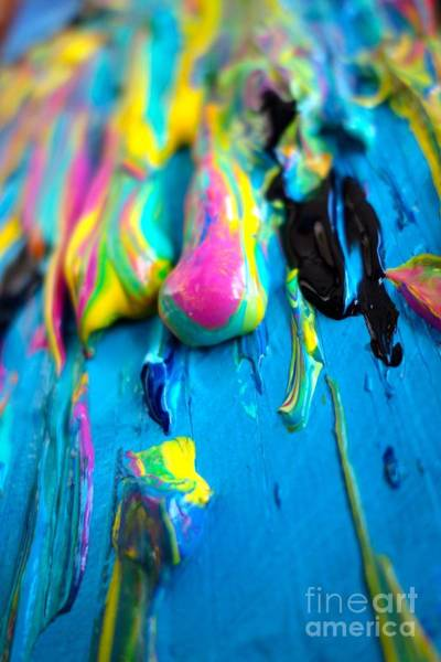 Photograph - Dripping Paint #1 by Jacqueline Athmann
