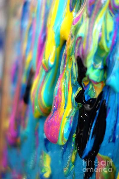 Photograph - Dripping Paint #2 by Jacqueline Athmann