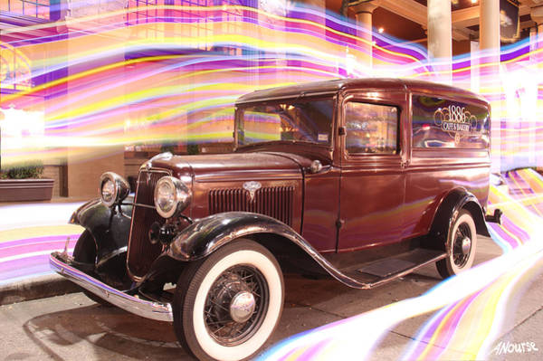Wall Art - Photograph - Model T At The Driskill On 6th Strt In Atx by Andrew Nourse
