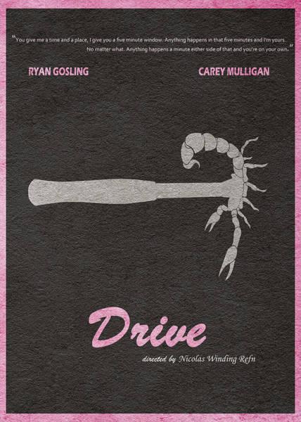 Gosling Wall Art - Digital Art - Drive by Inspirowl Design