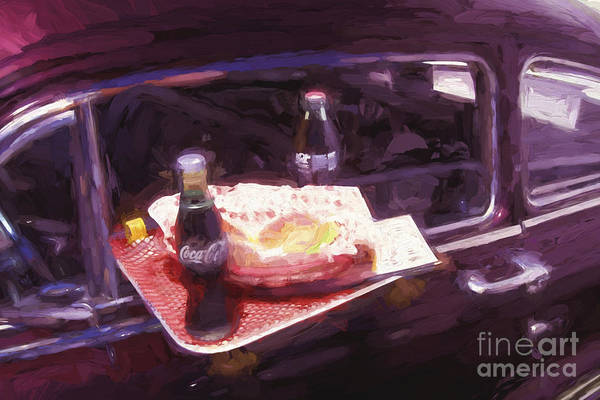 Photograph - Drive-in Coke And Burgers - 2 by Paul W Faust -  Impressions of Light
