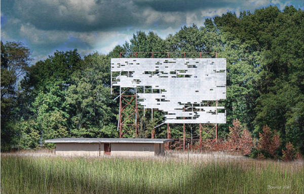 Photograph - Drive In Theater by Bonnie Willis