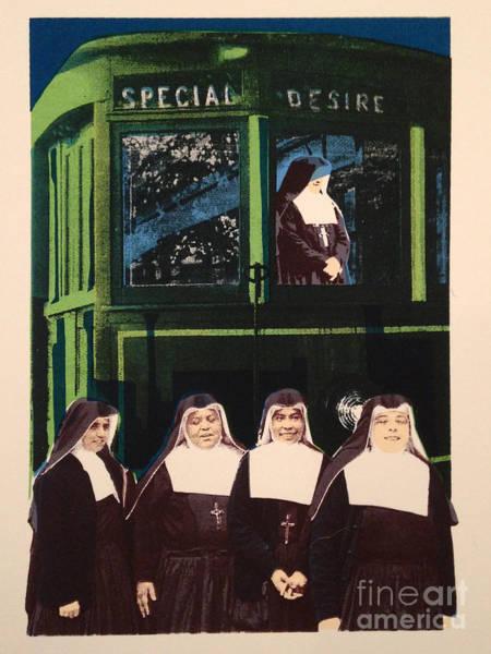 Wall Art - Mixed Media - Driven By A Special Desire by Ellen Moore Osborne