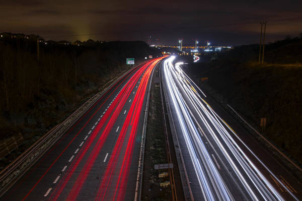 Photograph - Driving Home For Christmas by Ross G Strachan