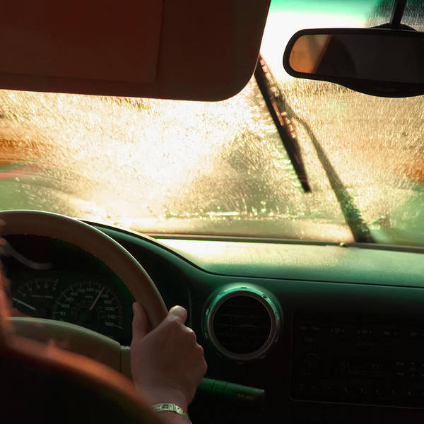 Driving Photograph - Driving In The Rain by Stevecoleimages