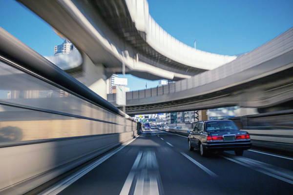 Driving Photograph - Driving On The Metropolitan Expressway by Takahiro Yamamoto