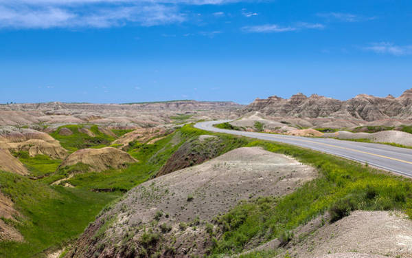 Photograph - Driving The Badlands Loop by John M Bailey