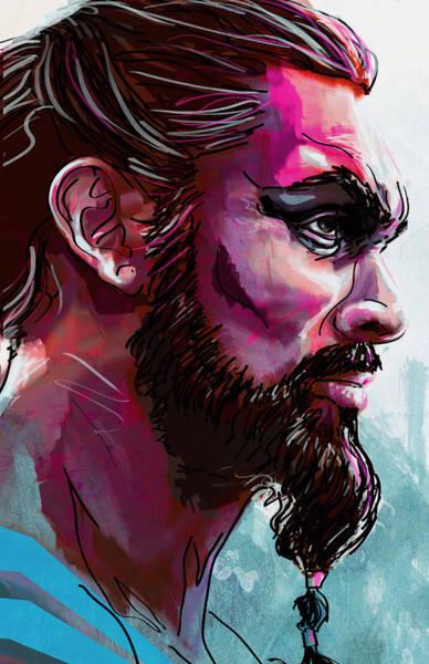 Gamer Digital Art - Drogo by Jeremy Scott
