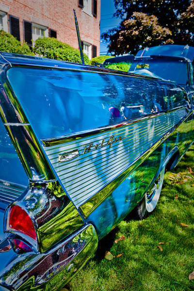 Photograph - Drop Top And Tail Fins by Jeff Sinon