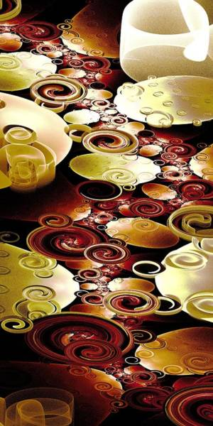 Digital Art - Drops And Ripples by Anastasiya Malakhova