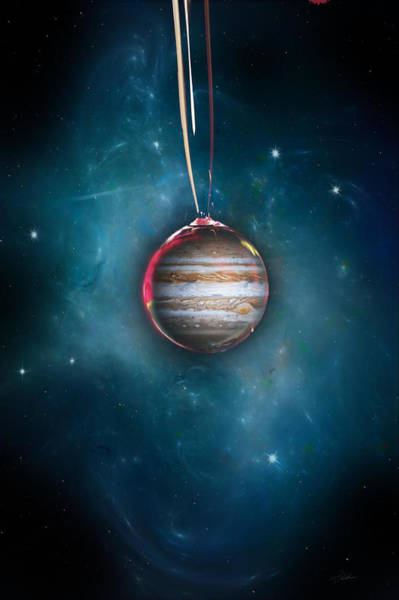 Space Exploration Digital Art - Drops Of Jupiter by Peter Chilelli