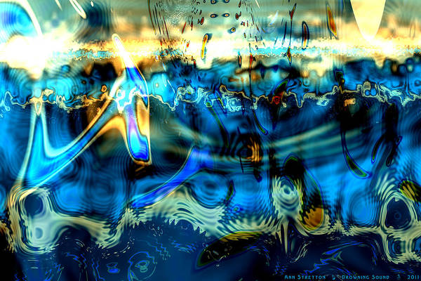 Digital Art - Drowning Sound  by Ann Stretton