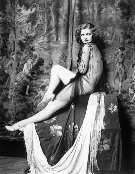 Wall Art - Photograph - Drucilla Strain (1913-c1996) by Granger