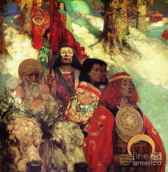 Druids Paintings | Pixels