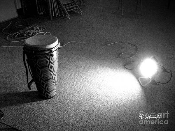 Photograph - Drum 01 by E B Schmidt