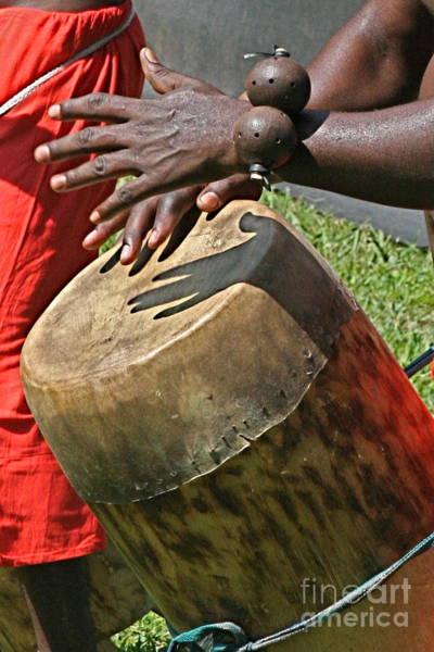 Photograph - Drum by George DeLisle