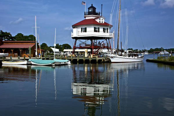 Wall Art - Photograph - Drum Point Light House by Kathi Isserman