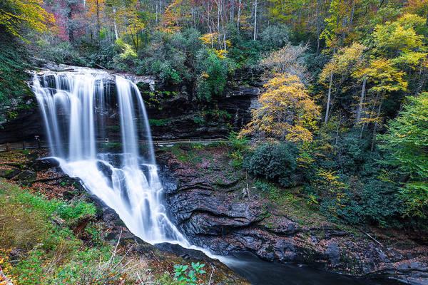 Nantahala Photograph - Dry Falls  by Walt  Baker