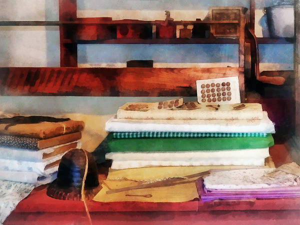 Photograph - Dry Goods For Sale by Susan Savad