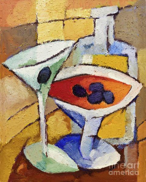 Painting - Dry Martini by Lutz Baar