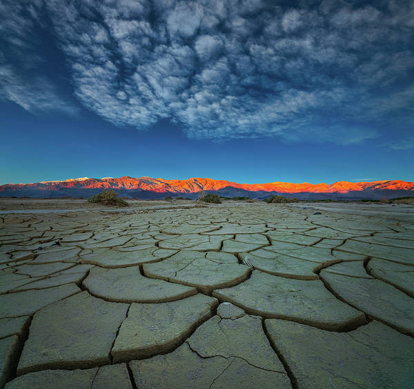 Mountain Range Photograph - Dry Season by John Fan