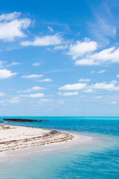 Photograph - Dry Tortugas Coaling Dock by Adam Pender