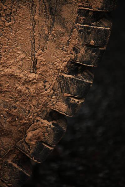Heavy Duty Truck Wall Art - Photograph - Dryed Mud by Karol Livote