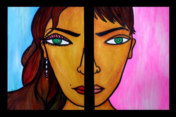 Similar Painting - Dualism by Sivaanan Balachandran