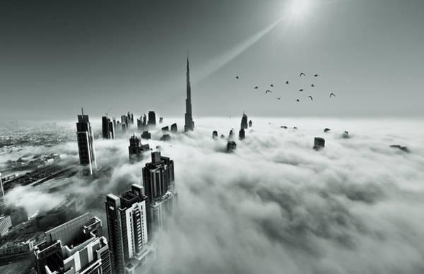 Wall Art - Photograph - Dubai Fog by MQ Naufal